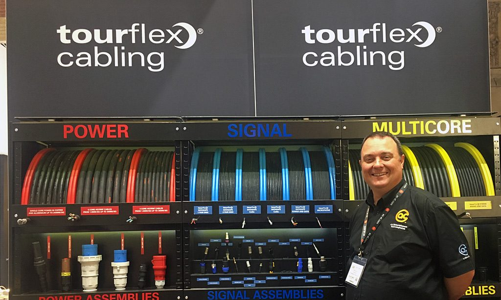 Tourflex Cabling Showcased at ABTT 2017 Show
