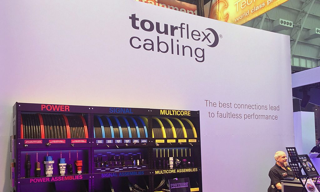 Tourflex Cabling Showcased at PLASA Focus Leeds