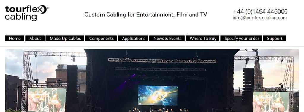 Tourflex Cabling Launches New Website