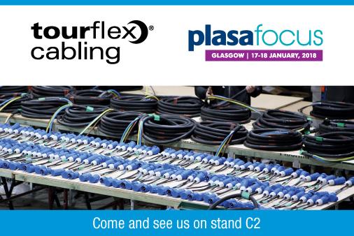Tourflex Cabling at PLASA Focus Glasgow