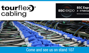 Tourflex Cabling at BSC Expo 2018