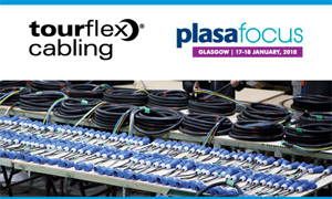 Tourflex Cabling at PLASA Focus Glasgow