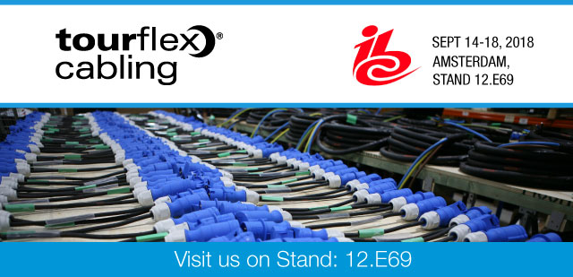 Tourflex Cabling at IBC 2018
